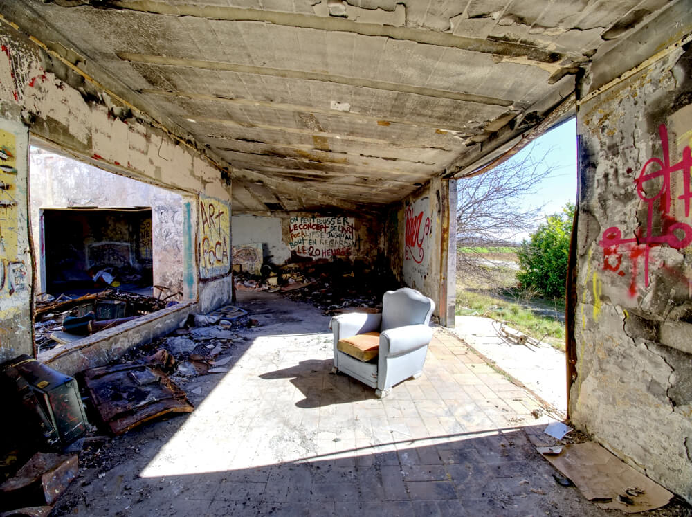 """""""Le fauteuil I"""" © Laurent Gayte, Alpes de Haute Provence"""