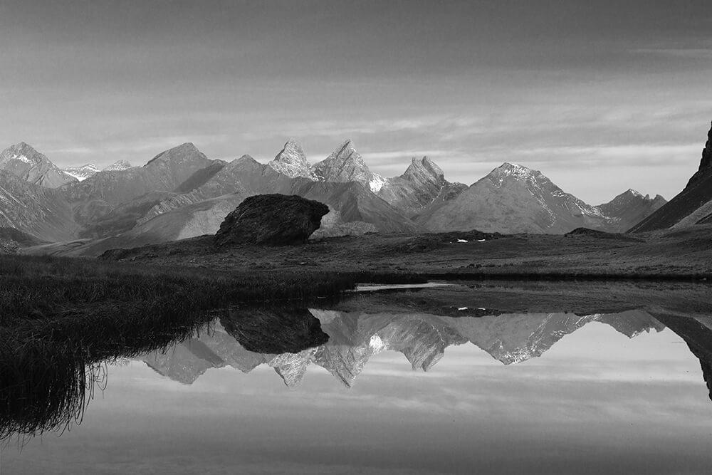 Marc Lelievre Lac des Cerces photo