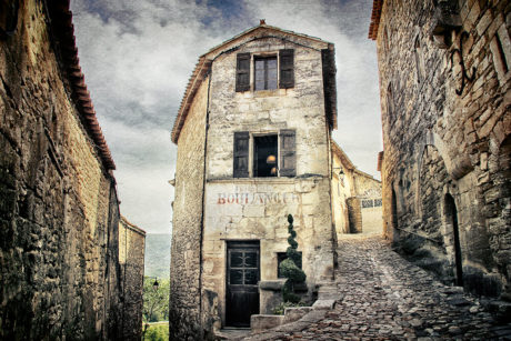 Karine Chavas Village de Lacoste Lubéron Photographie