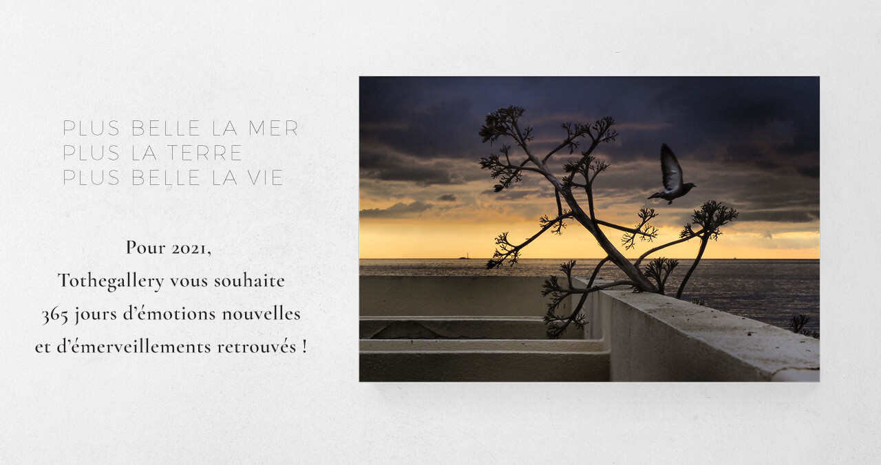 Voeux 2021 - Photographie d'art - Marseille