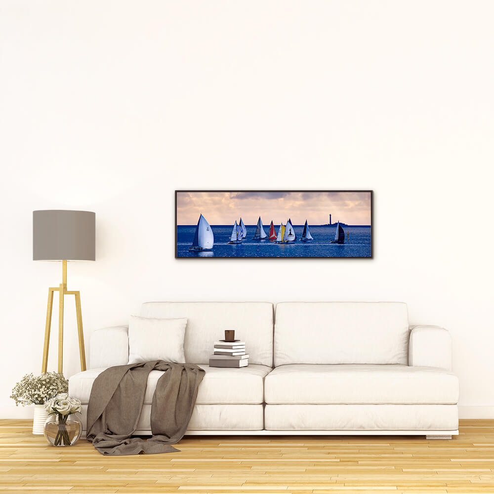 Photographie panoramique de Marseille - Yohan Brandt